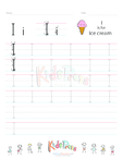 Handwriting Worksheet Letter I