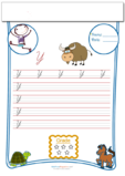 Cursive Writing Worksheet Letter Y