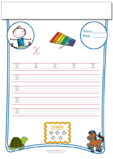 Cursive Writing Worksheet Letter X