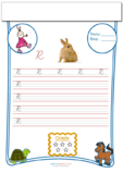 Cursive Writing Worksheet Letter R