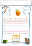 Cursive Writing Worksheet Letter O