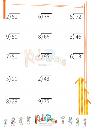 two digit by one digit division with remainders. Black Bedroom Furniture Sets. Home Design Ideas