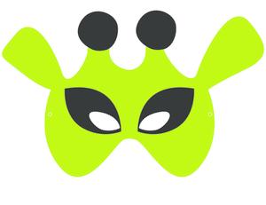 Craft Masks Alien 1