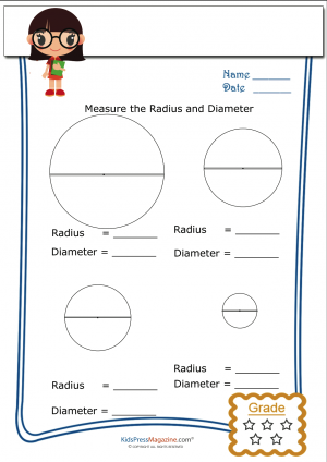 Radius And Diameter Archives Kidspressmagazine Com