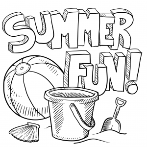 coloring pages for summer activities coloring pages ideas - Fun Pictures To Color
