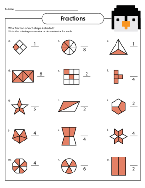 Number Names Worksheets math worksheet fractions : Worksheets For Year 4 Fractions - Worksheets for Kids, Teachers ...