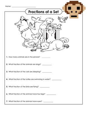 math worksheet : naming fractions 2  kidspressmagazine  : Fractions Of A Set Worksheets