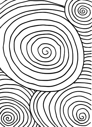 Doodle Coloring Archives - Page 2 of 3 - KidsPressMagazine.com Abstract Drawing