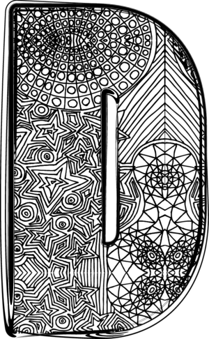 The letter d archives kidspressmagazine fancy letter d 2 altavistaventures Image collections