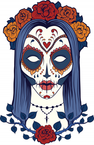 Sugar Skull Advanced Coloring 8 Kidspressmagazine Com