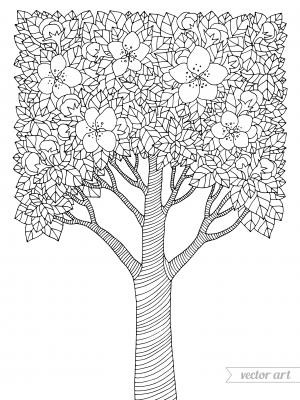 Spring Elements Coloring Page - KidsPressMagazine.com