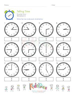 Telling Time Archives - Page 3 of 4 - KidsPressMagazine.com
