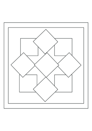 Mandalas for beginners archives for Mandala coloring pages for beginners