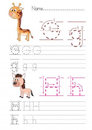 Alphabet H Practice Archives Kidspressmagazine Com
