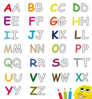 Alphabet Tracing Coloring Pages Archives Kidspressmagazine Com