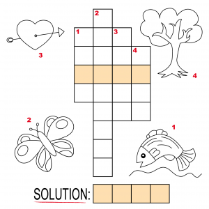 Crossword Puzzles For Kids 5