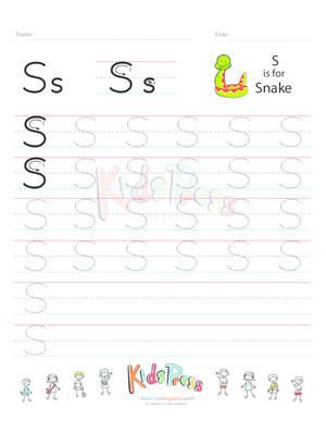 Alphabet S Practice Archives - KidsPressMagazine.com