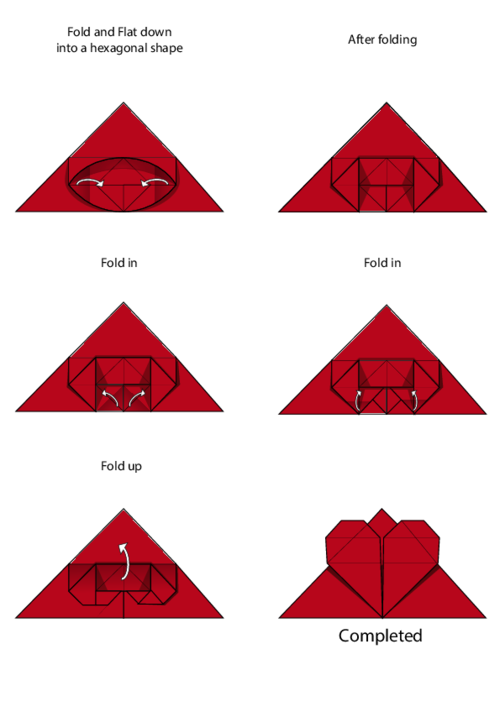 Origami: Heart Box & Envelope - YouTube | 707x500