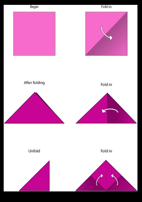 Origami Hearts | 707x500