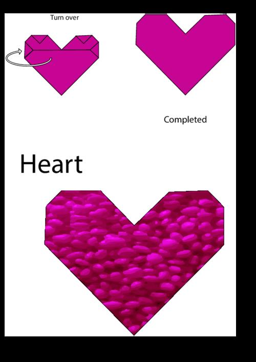 Easy Origami Instructions Heart Kidspressmagazine