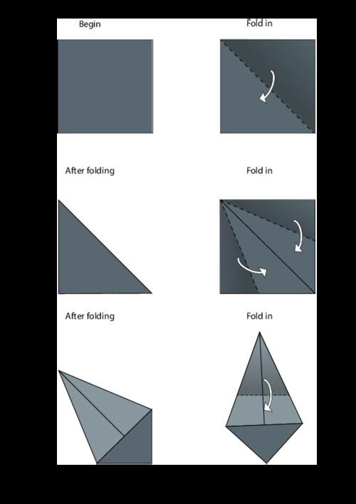 origami dove printable instructions | Origami bird easy, Origami ... | 707x500