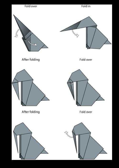 Koala(face) | Easy origami for kids, Origami easy, Origami | 707x500