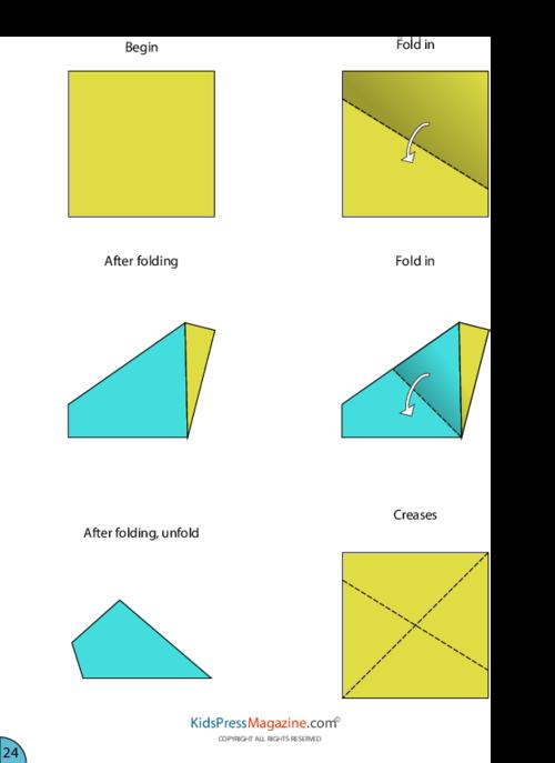 Paper Airplane Instructions Eagle Kidspressmagazine