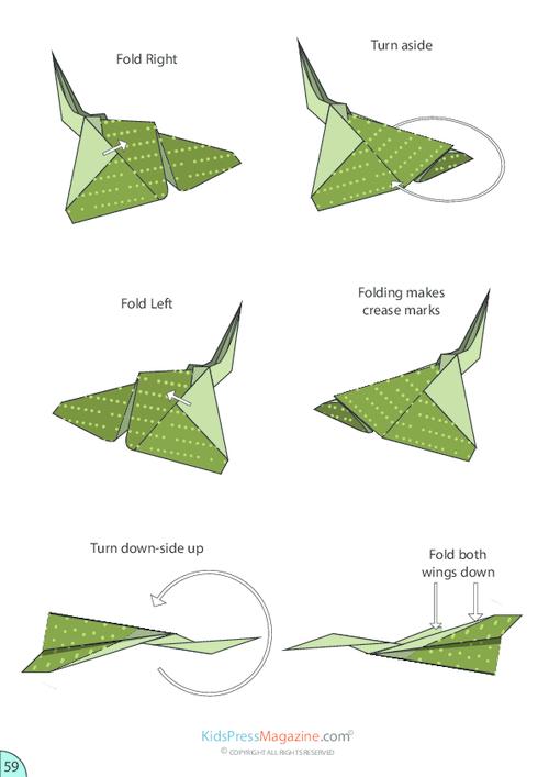 Paper Airplane Instructions Concord Kidspressmagazine Com