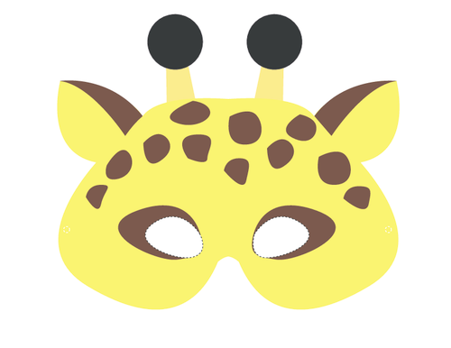 Printable Animal Masks...
