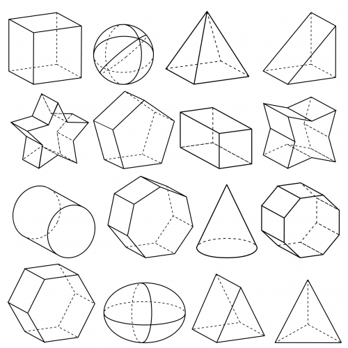 D Shape Line Drawings : Geometry d shapes kidspressmagazine