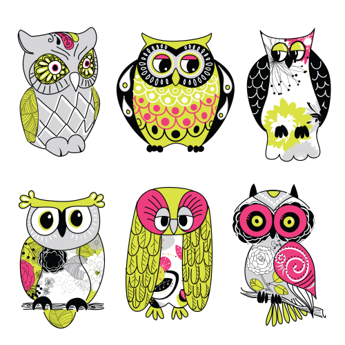 photo relating to Printable Clip Art known as Owl Printable Clipart Environmentally friendly -