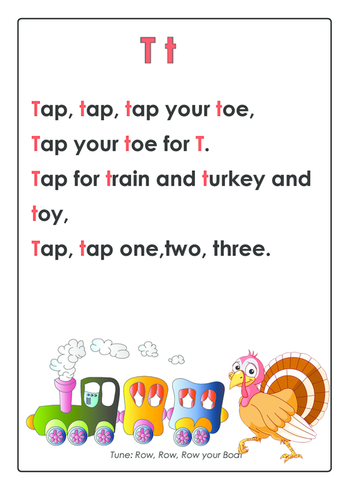 letter t song abc songs letter t kidspressmagazine 735