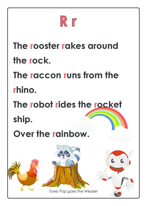 ABC Songs – Letter R KidsPressMagazine
