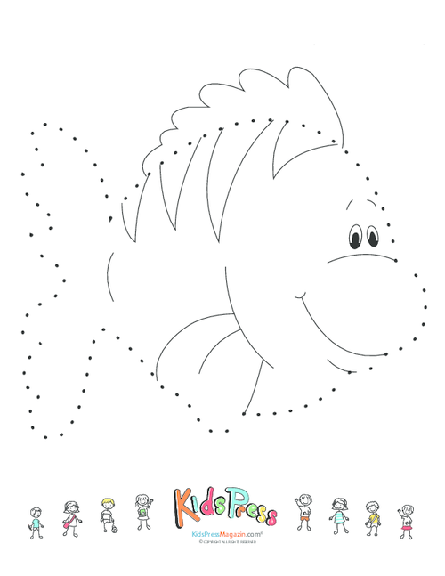 Dot To Dot 1 50 Worksheets : Dot to worksheets medium level animal