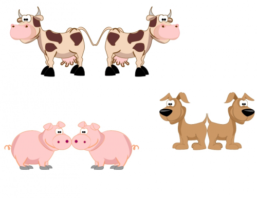 photograph about Printable Puppets identify Printable Puppets Farm Pets 4 -