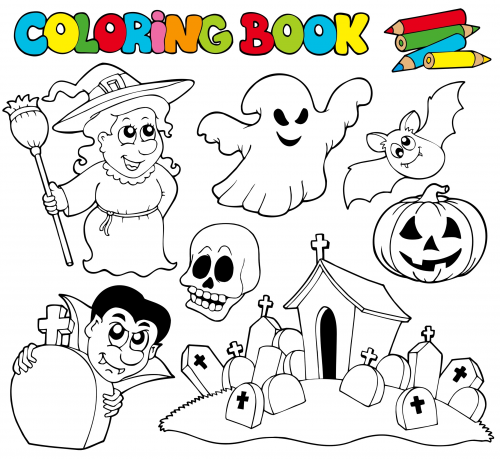 Halloween Boo Coloring Page Kidspressmagazine Com