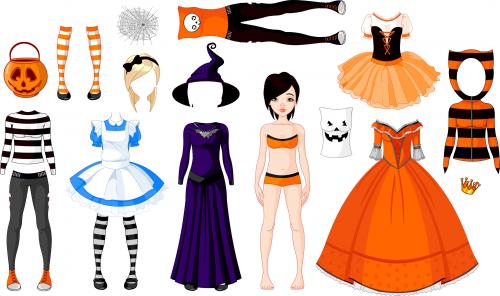 Dress up paper girl printables kidspressmagazine com