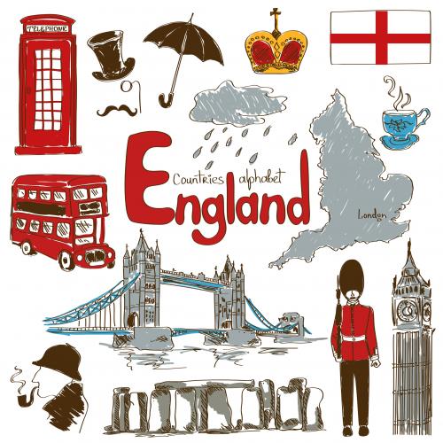 England Culture Map Printable - KidsPressMagazine.com
