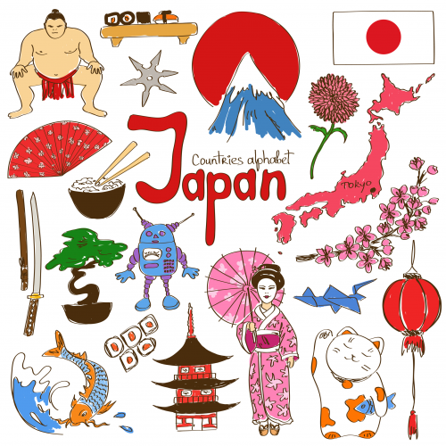Japan Culture Map Printable KidsPressMagazinecom