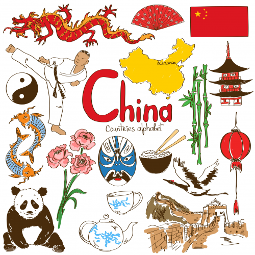 China Culture Map  KidsPressMagazine.com