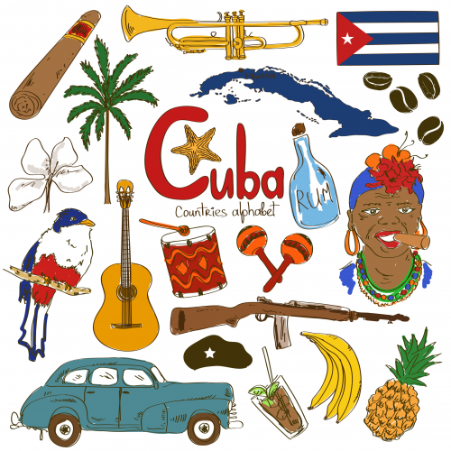 cuba culture map. Black Bedroom Furniture Sets. Home Design Ideas