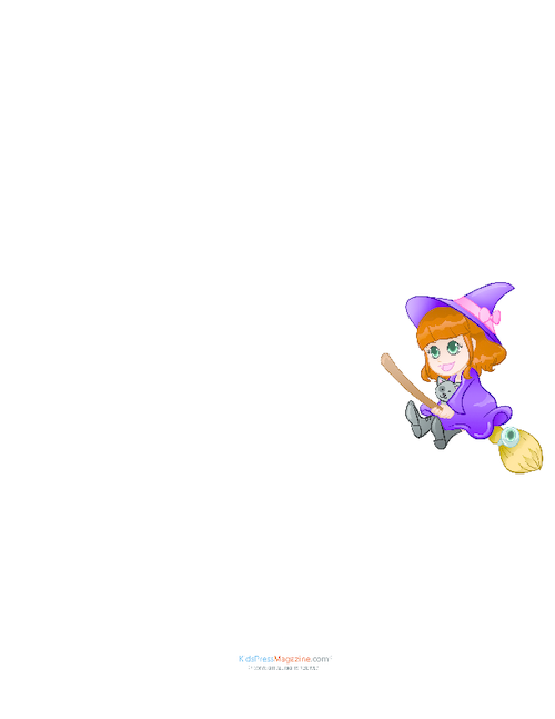 The Witch and Her Kitty Wanted To    - KidsPressMagazine com