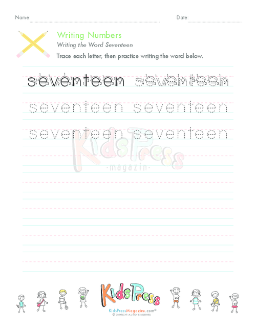 writing numbers in words for kids With this numbers writing & drawing tablet kids get practice writing numbers  and number words, plus building counting and early math skills.