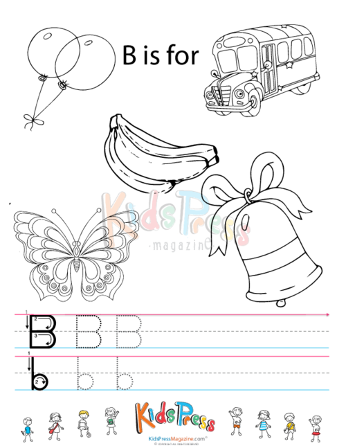 Alphabet Tracing Coloring Pages Archives - KidsPressMagazine.com