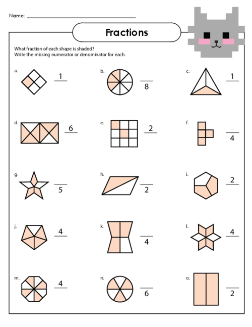 Subtracting Fractions With Same Denominator Worksheets – Fractions Worksheets Ks3