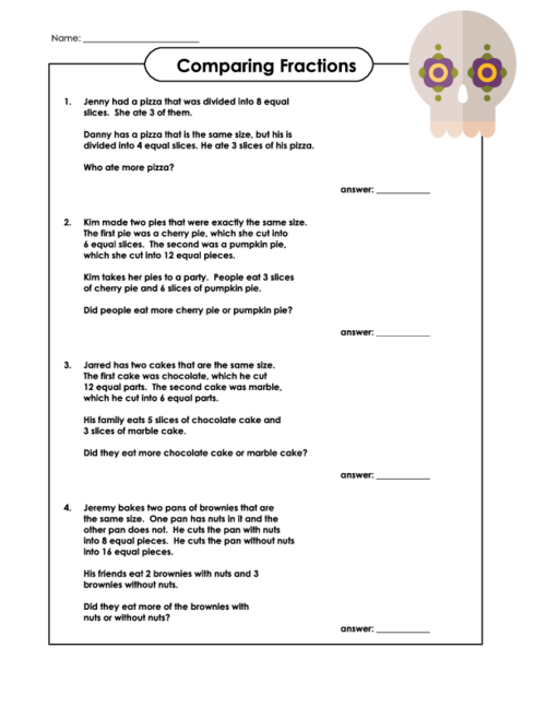 Worksheet 612792 Division Word Problems 4th Grade Worksheets – Fractions Worksheets Word Problems