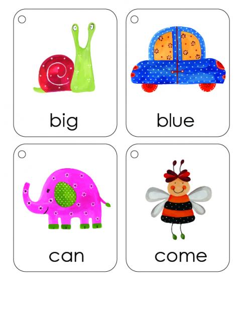 My First Words For Week Two - KidsPressMagazine.com