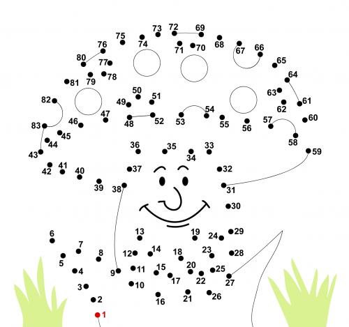 Number Names Worksheets alphabet dot to dot printables : Dot to Dot Archives - KidsPressMagazine.com