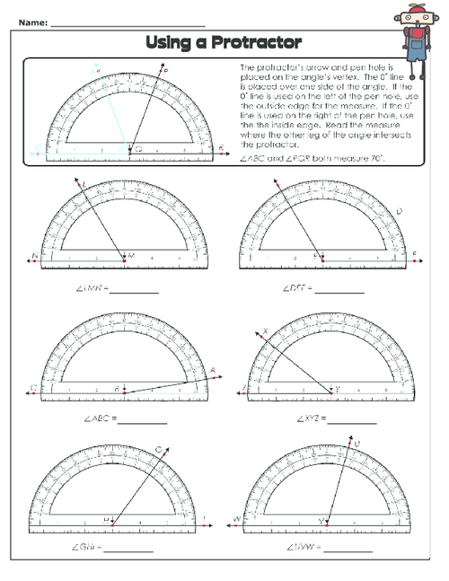 Using a Protractor 2 - KidsPressMagazine.com