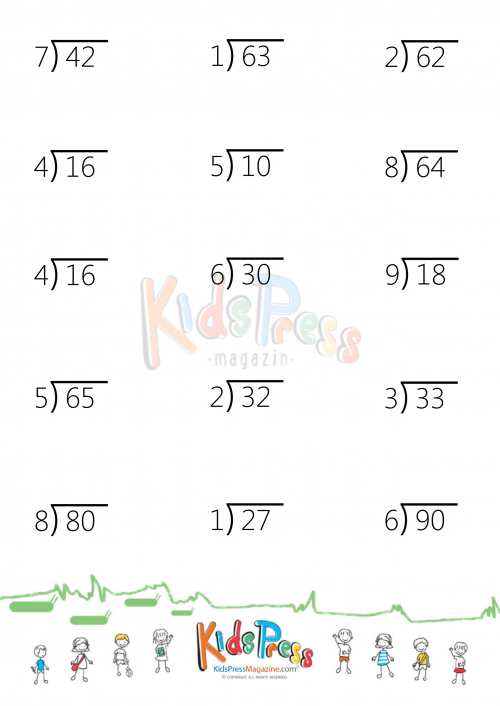 Division Worksheets division worksheets 4 digit by 2 digit – Division by 2 Worksheets